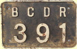 click for 14K .jpg image of BCDR wagon plate