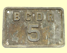 click for 11K .jpg image of BCDR loco no.