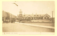 click for 5K .jpg image of Portrush Station post card