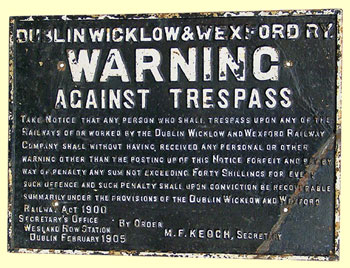click for 45K .jpg image of DWWR trespass