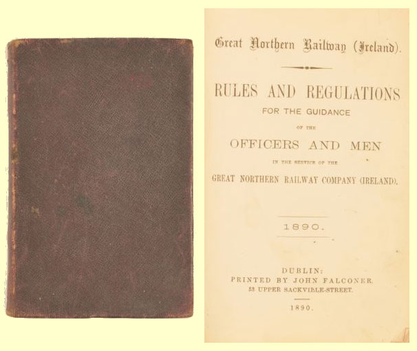 click for 43K .jpg image of GN 1890 rule book