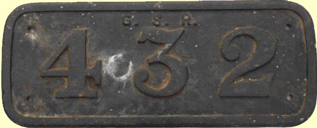 click for 18K .jpg image of GSR loco plate