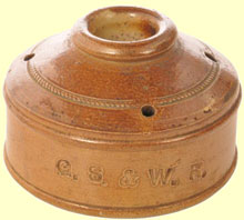 click for 12K .jpg image of a GSW inkwell