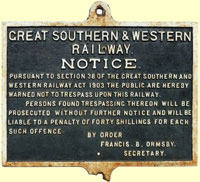 click for 15K .jpg image of GSWR Ormsby trespass