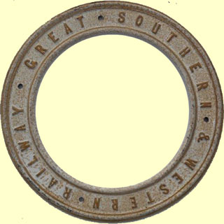 click for 21K .jpg image of GSWR roundel