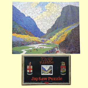 click for 28K .jpg image of GWR jigsaw