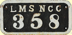 click for 12K .jpg image of LMSNCC wagonplate