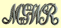 click for 9.3K .jpg image of MGWR cap badge.