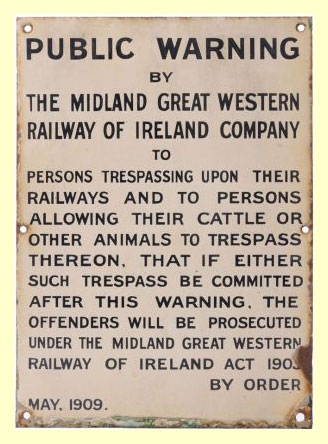 click for 17K .jpg image of MGWR trespass