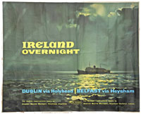click for 11K .jpg image of BR Ireland overnight poster